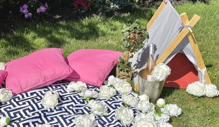 Romantic Rosé Wine Picnic Essentials