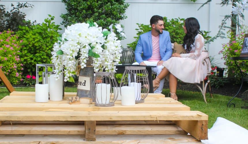 An Unforgettable Rustic Engagement Party