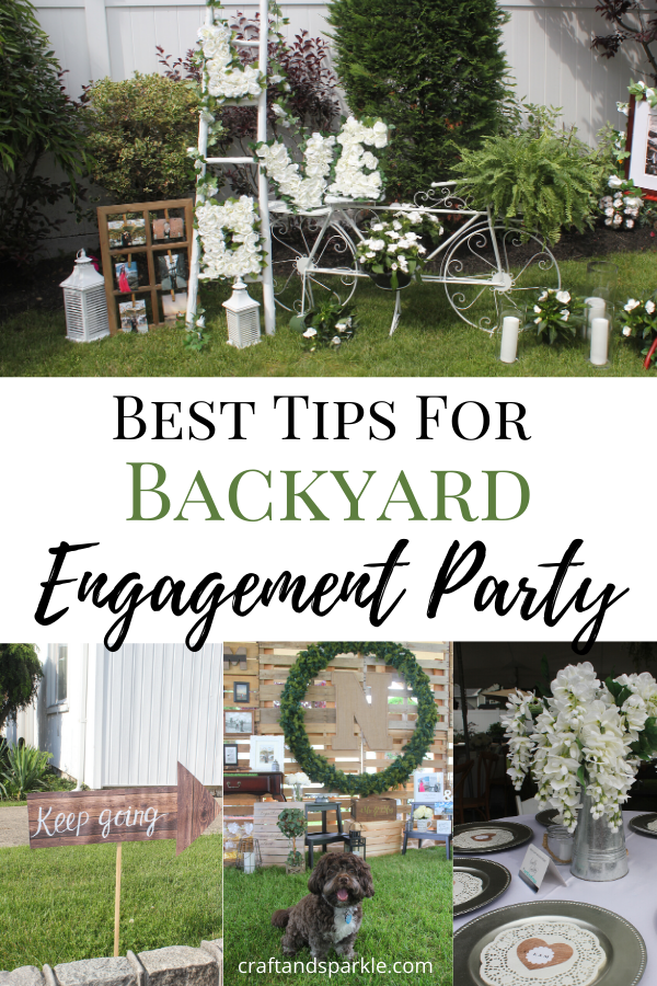 Best Tips for Backyard Engagement Party
