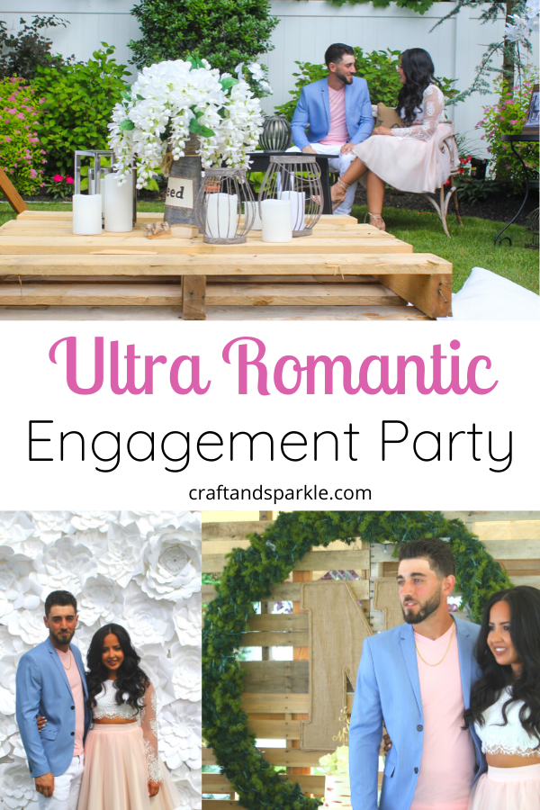 Ultra Romantic Engagement Party
