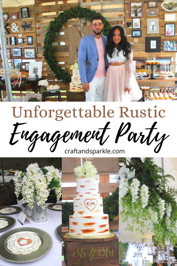 Pin these rustic party ideas for later!