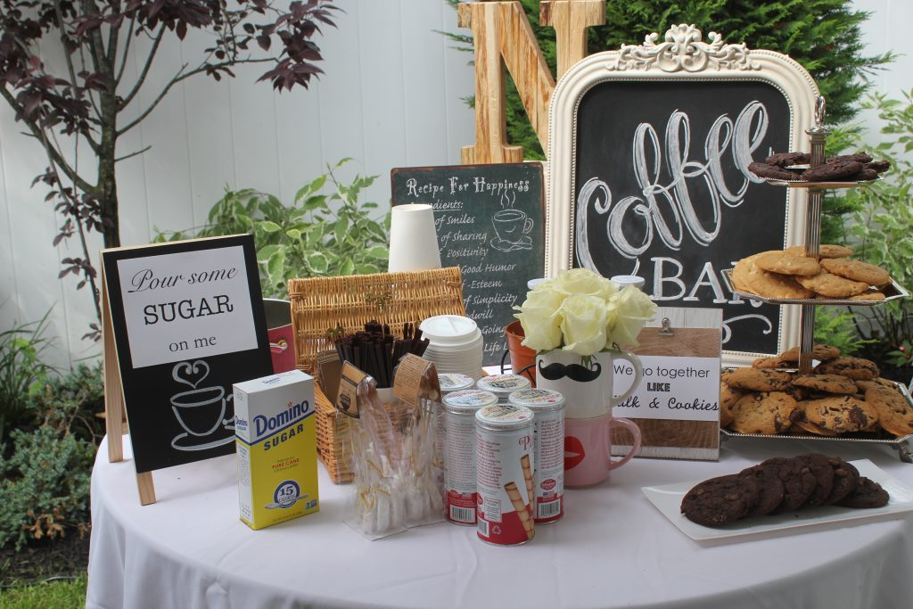 Party food signs