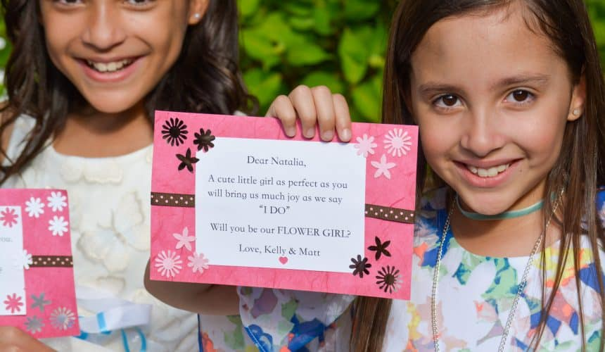 Creative Ways to Ask Kids to Be in Your Bridal Party