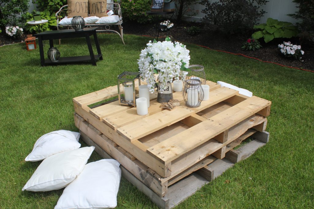 Set up different seating areas for guests to spread out.