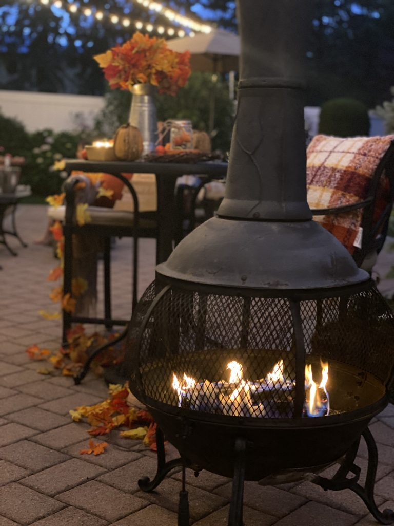 classy fire pit for your yard