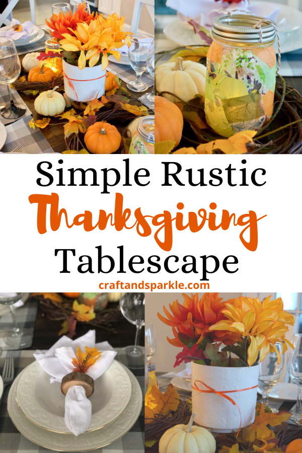 Fall or Thanksgiving tablescape ideas.