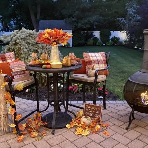 Cozy Fall Decor: How to Enjoy Your Backyard Longer
