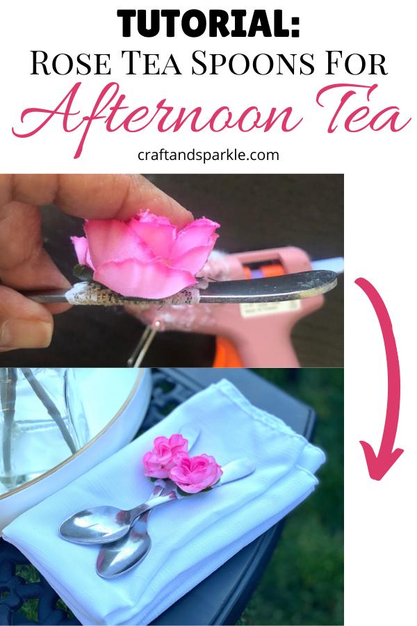 DIY Rose Tea Spoon Tutorial