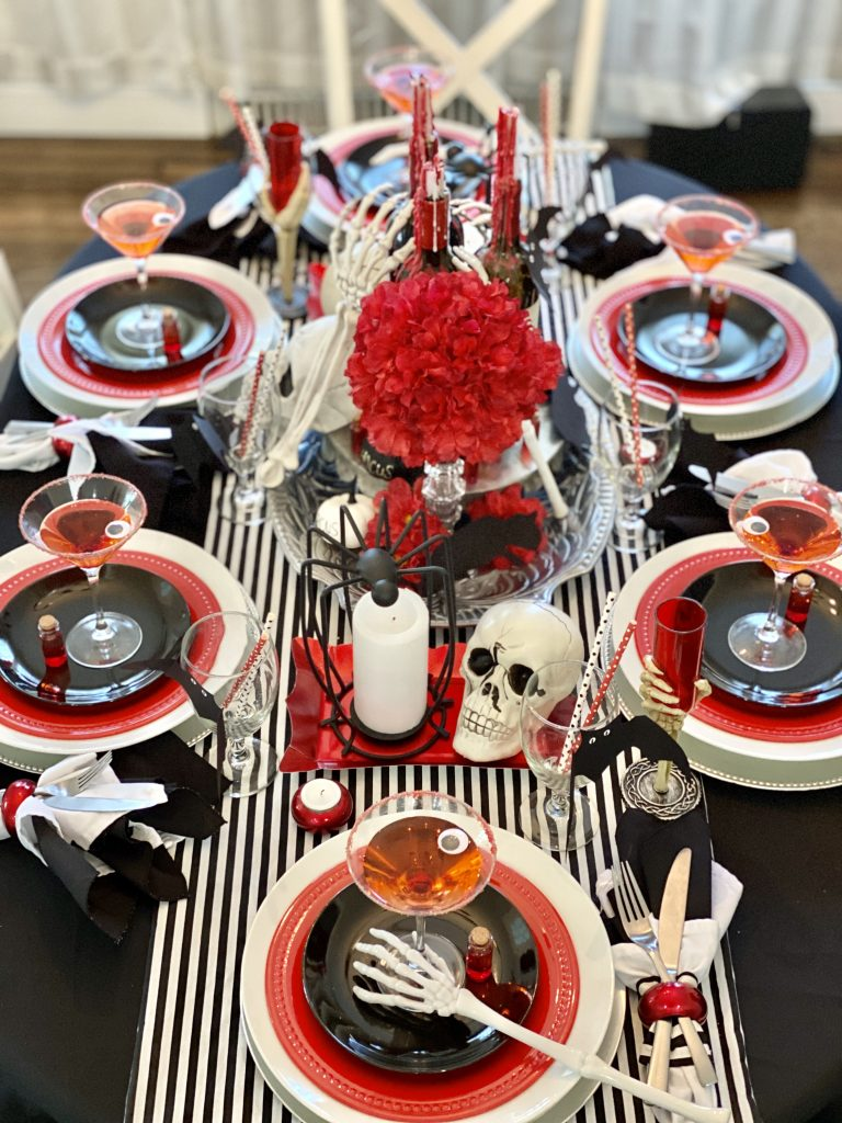 Gory tablescape