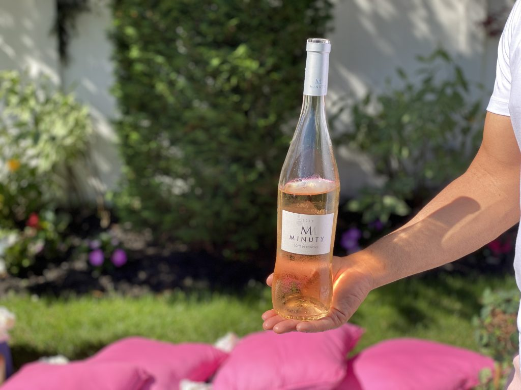 Minuty is a delicious rose wine.
