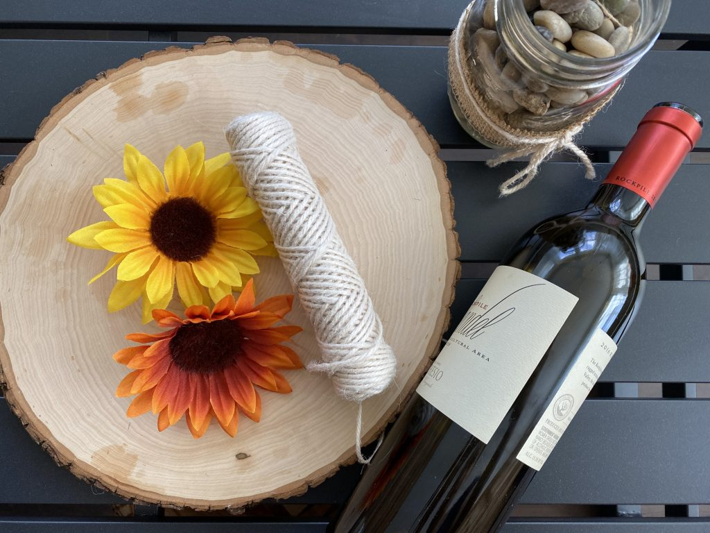 Use old wine bottles for DIY projects.