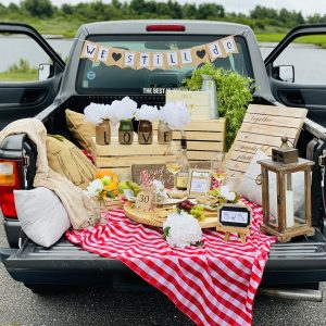 A Pick-Up Truck Picnic: The Ultimate Date Night Idea