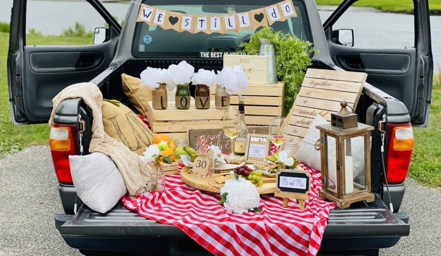 A Pick-Up Truck Picnic: The Ultimate Date Night Idea