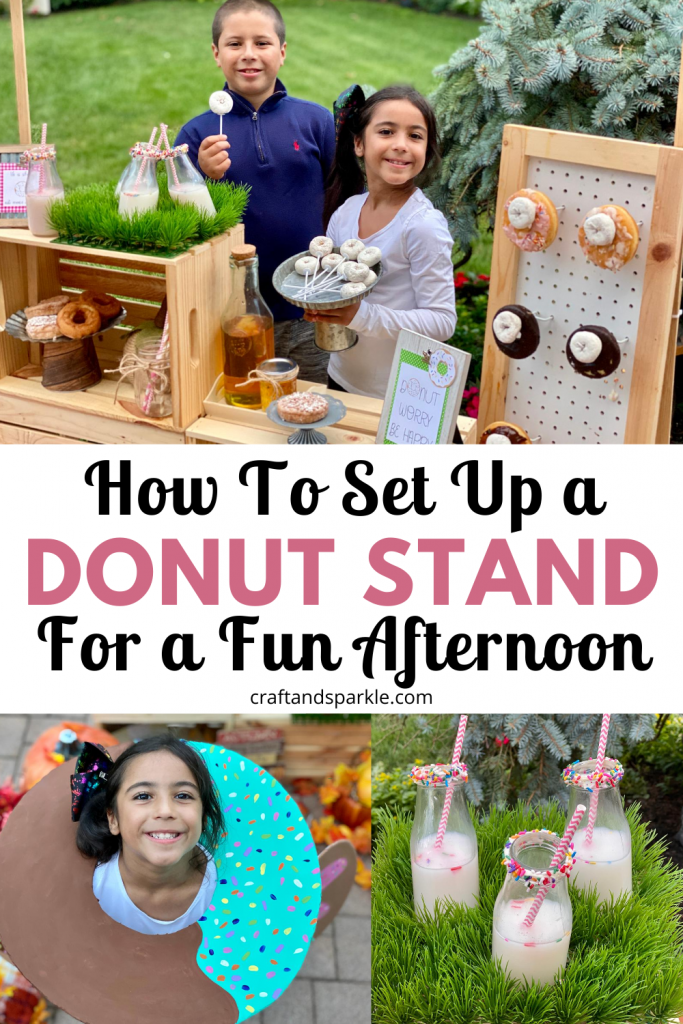 Donut stand is fun and easy!