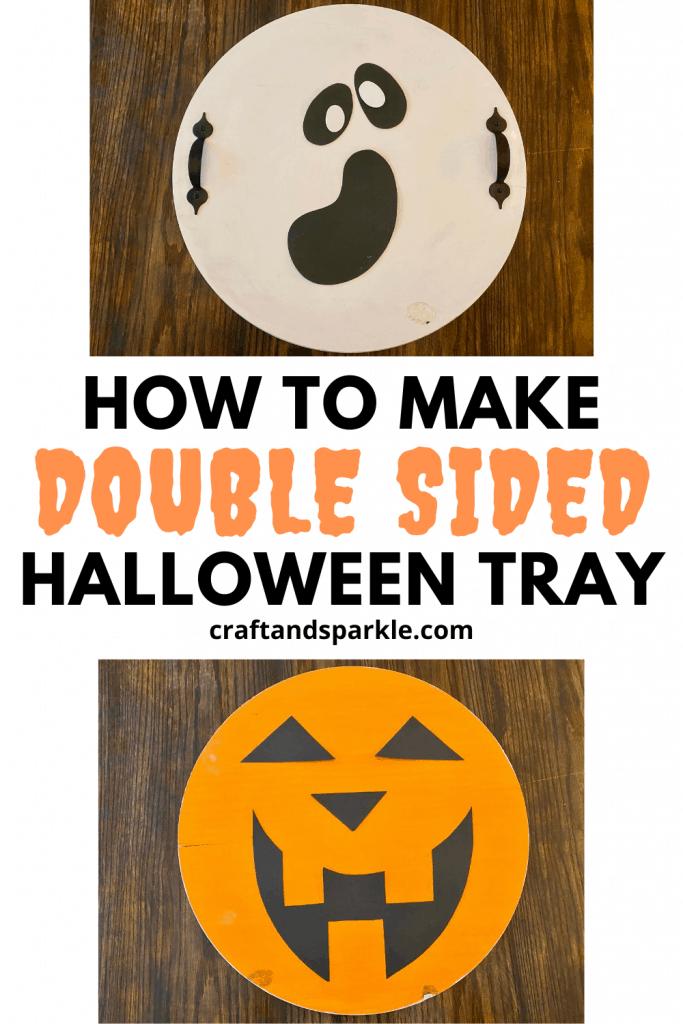 Cool DIY Halloween tray