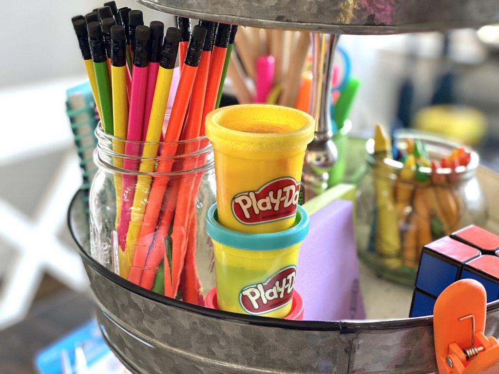 Homeschool supply organization tips