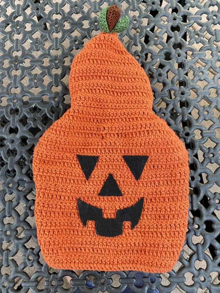 pumpkin crochet costume for dogs