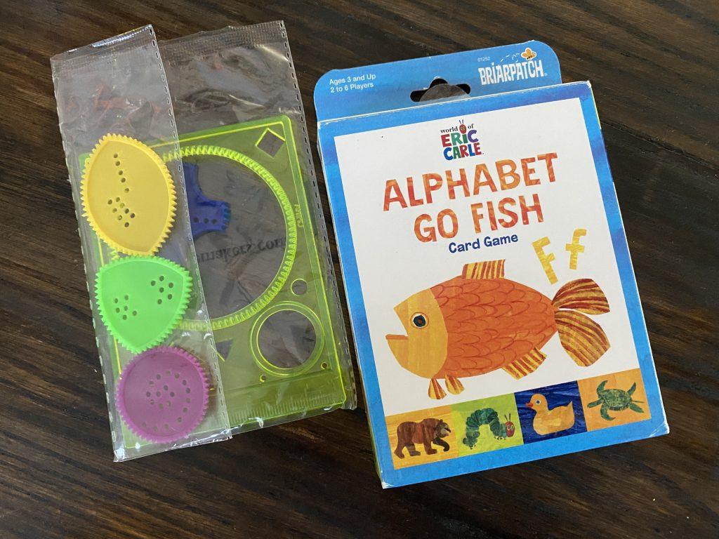 Dollar store items for homeschool