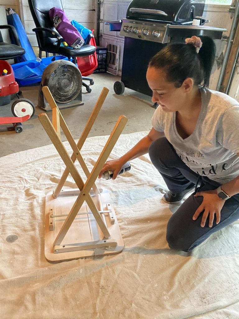 How to upcycle an old side table