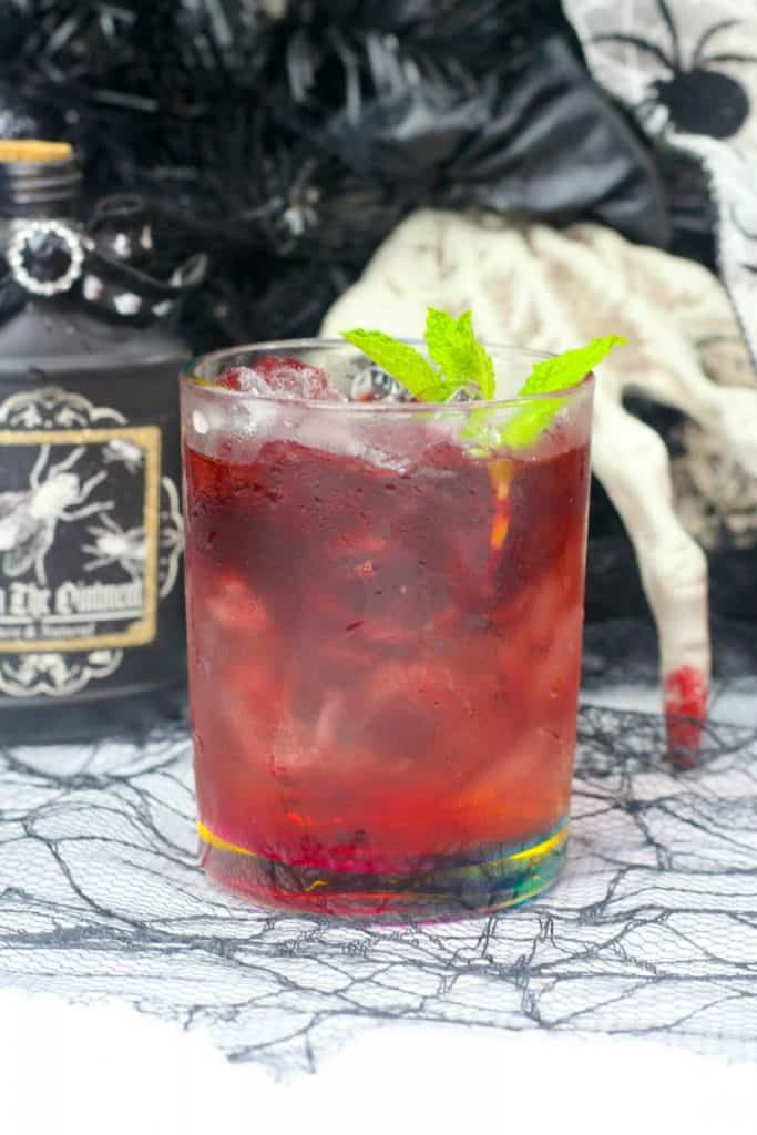 Witches blood spritzer recipe.