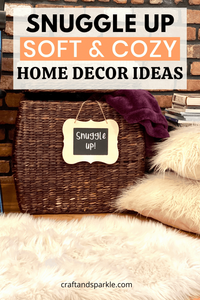 warm and cozy items for the home