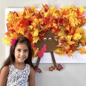 DIY Light Up Thanksgiving Turkey Wall Art & Game