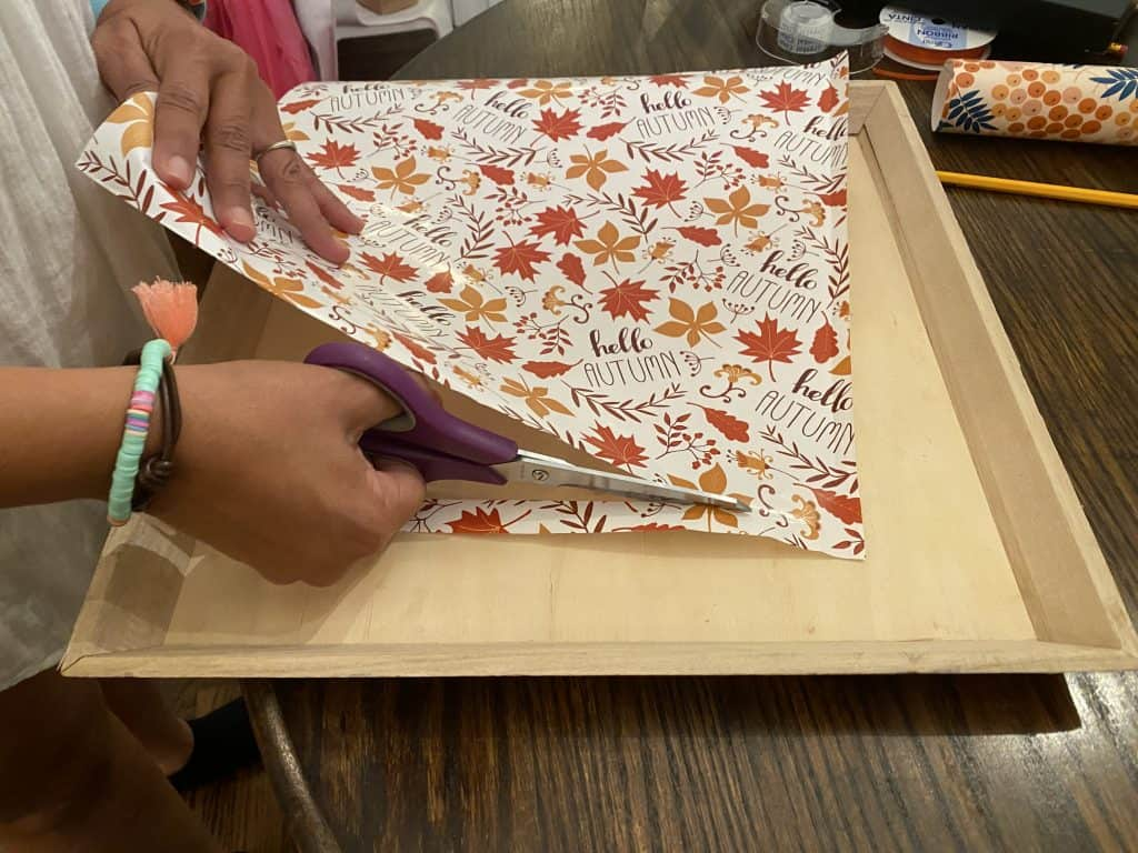 wrapping paper craft ideas