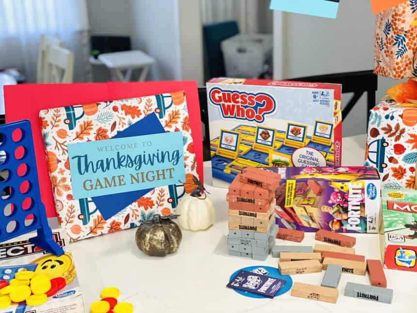 How to Prep an Exhilarating Thanksgiving Game Night
