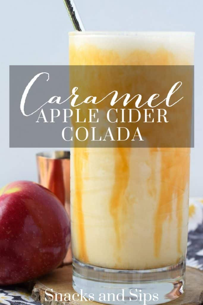 Caramel Apple Cider Colada