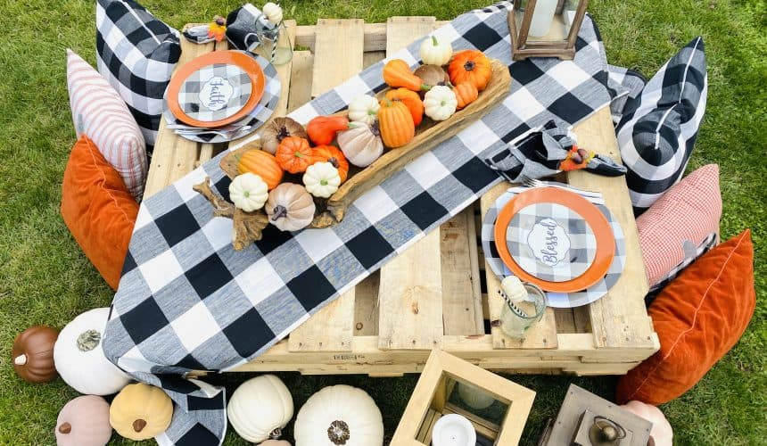 5 Reasons to Try This Fall Buffalo Checkered Tablescape