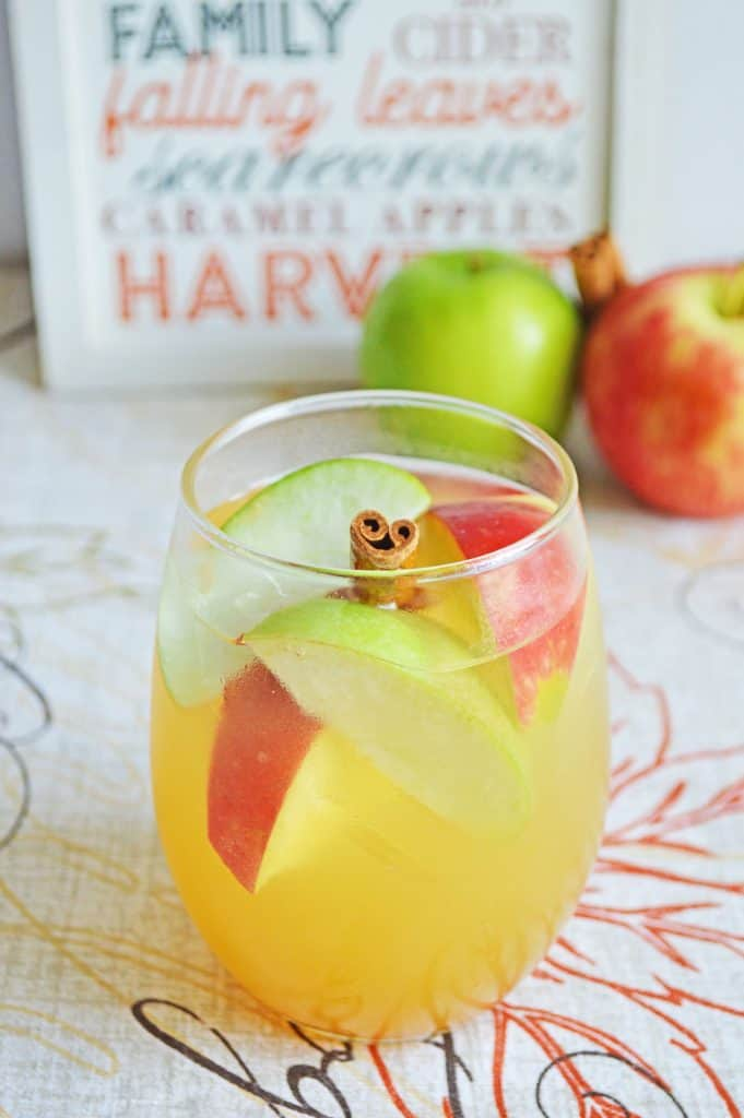 Apple Cider and Rum Punch