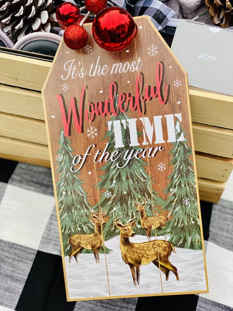 large gift tag from Dollar Tree