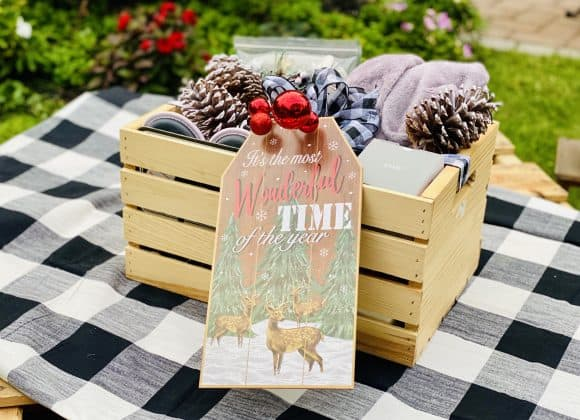 Unforgettable (And Useful) Cozy Christmas Gift Crate
