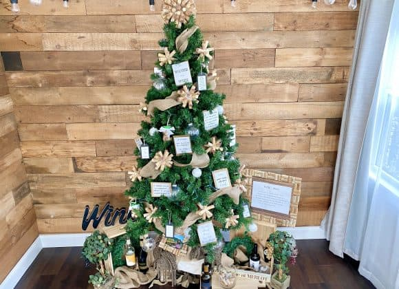 The Ultimate Wine Themed Christmas Tree