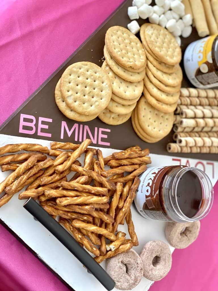 romantic dessert board