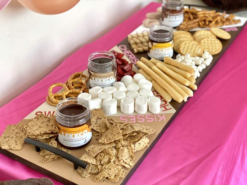 Spreading the Love with a Chocolate Food Board for Valentine's Day