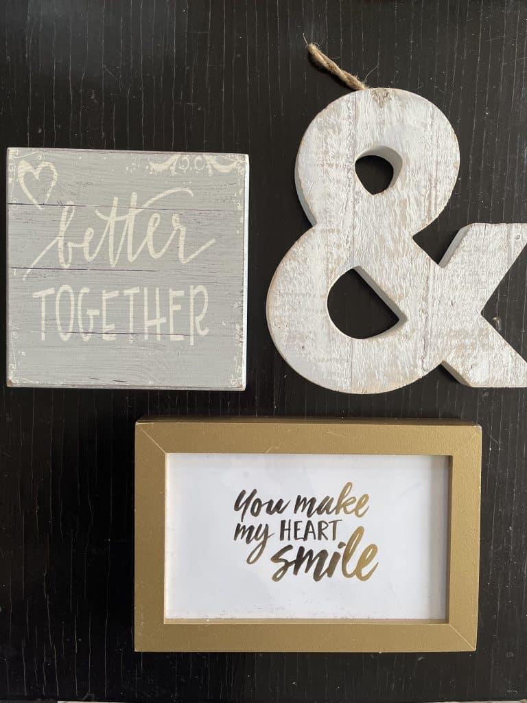 romantic wood frames