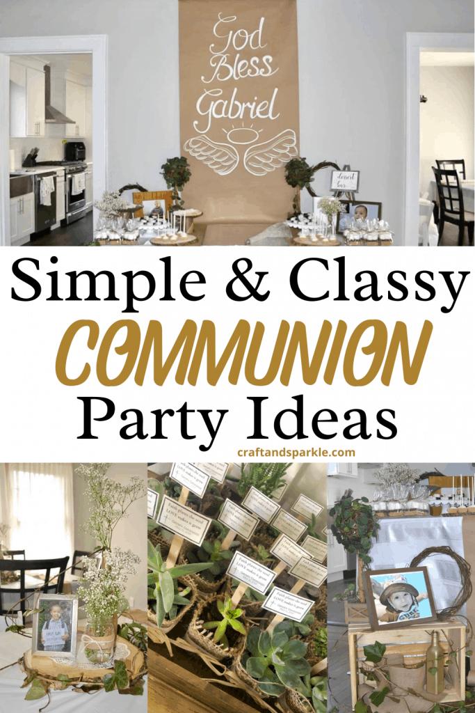 rustic communion ideas