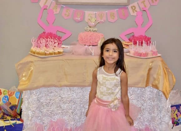 Insanely Cute Ballerina Themed Birthday Party
