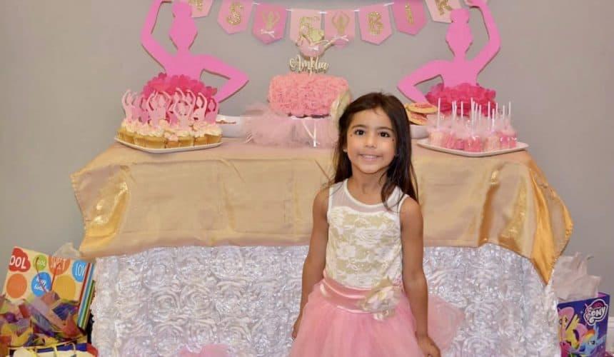 Insanely Cute Ballerina Themed Birthday Party