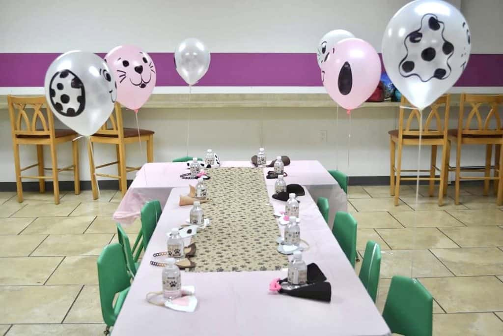 easy party for little girls