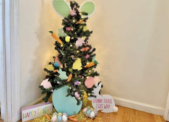 Joyful Easter Tree the Entire Family Can Enjoy