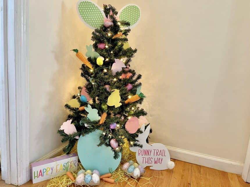 Joyful Easter Tree the Entire Family Can Enjoy