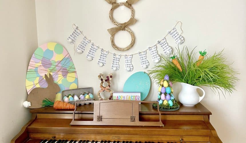 10 Stress-Free Easter Decor Ideas for Non-Crafters