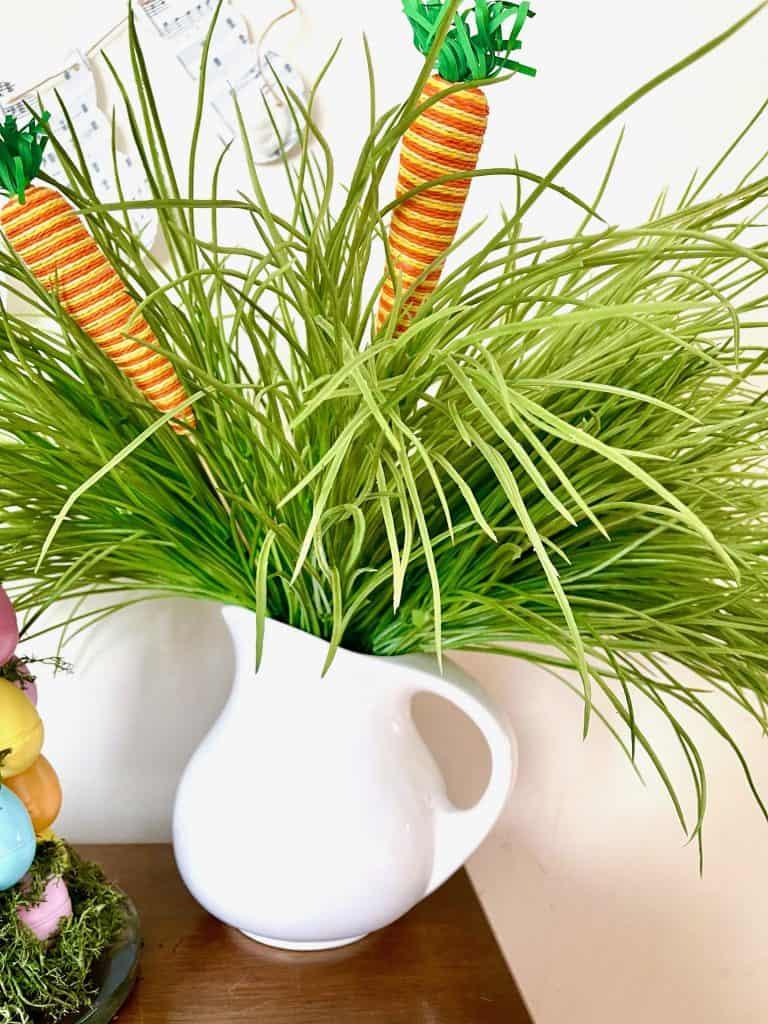 grass vase