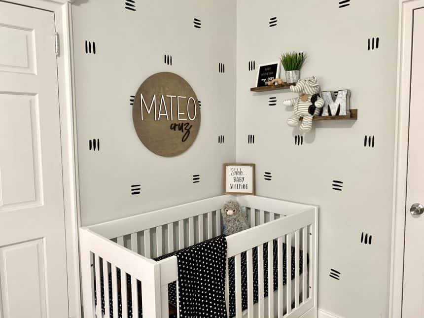 How to Incorporate a Nursery in a 1 Bedroom Apartment
