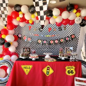 The Easiest Race Car Party Birthday Party Theme