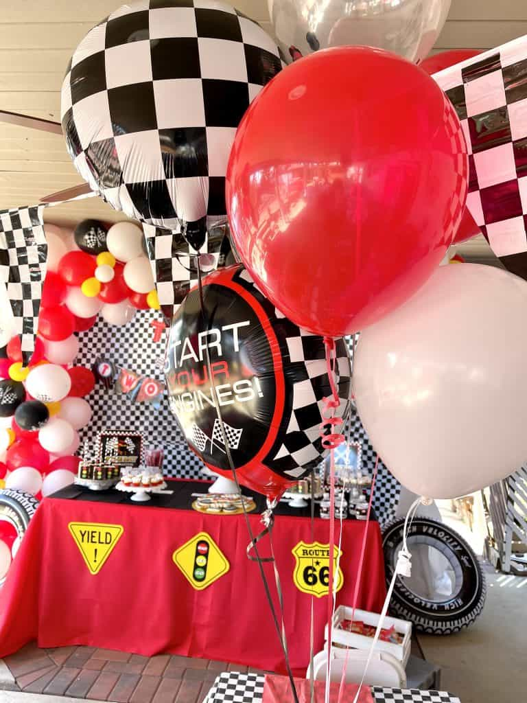 start your engine balloons