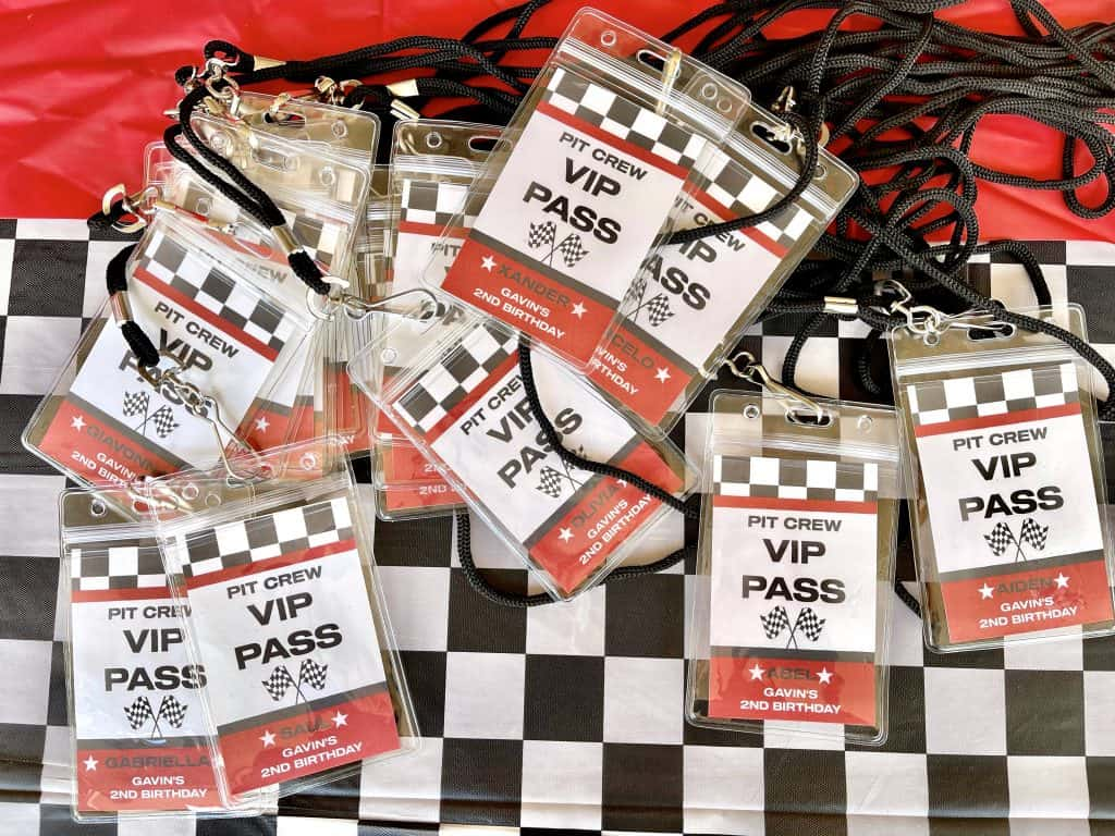 VIP passes
