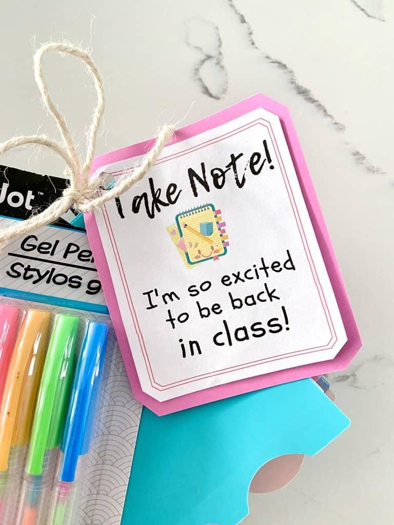 teacher gift tag